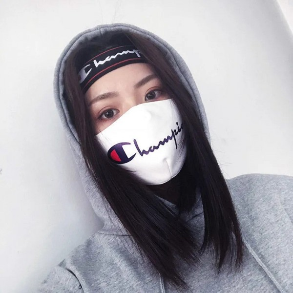 Champion High Brand Mask Parody Mask Soft Windproof Ventilation Insulation Cover Pure Cotton Covering Virus Splash Prevention Cold Cough Fashion For Men Women