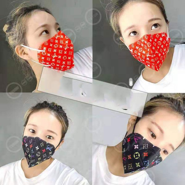 Brand Gucci LV Women Men Mask Supreme Protective 3 Layer Filter KN95 Medical Reusable Face Mask Burberry Coronavirus Protection Disposable Surgical Facemask Fashion