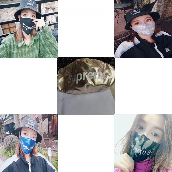 Supreme mask brand fashion Supreme washable mask film n95 mask anti-virus mask is comfortable and breathable, easy to wear