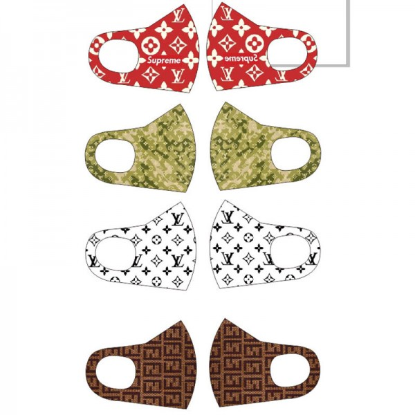 Louis Vuitton Reusable masks, chanel masks, street fashion accessories, washable masks with n95 level protection, which can effectively filter dust and viruses.