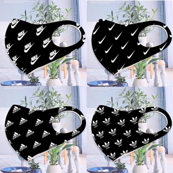 Nike brand reusable mask Adidas fashion trend mask black washable mask