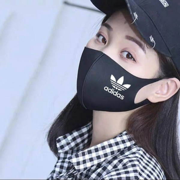 For Teens and Adults Cotton Face Masks Adidas/Nike/PUMA/New Balance Black Mask Stylish Coronavirus Protection Facemask The Best The Safest Mouth Coverings
