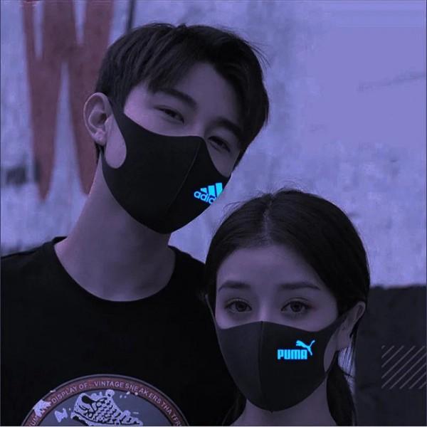 3D facemasks Puma / Adidas / Nike luxury brand protective masks soft cotton washable reusable breathable facial masks