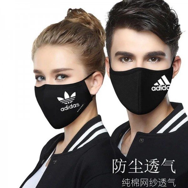 Adidas Nike Puma Sport New Balance Brand Cotton Masks Cloth Fashion Famous Mask High Quality Protective Coverings Luxury Cover Cotton Face Masks For Kids Adults