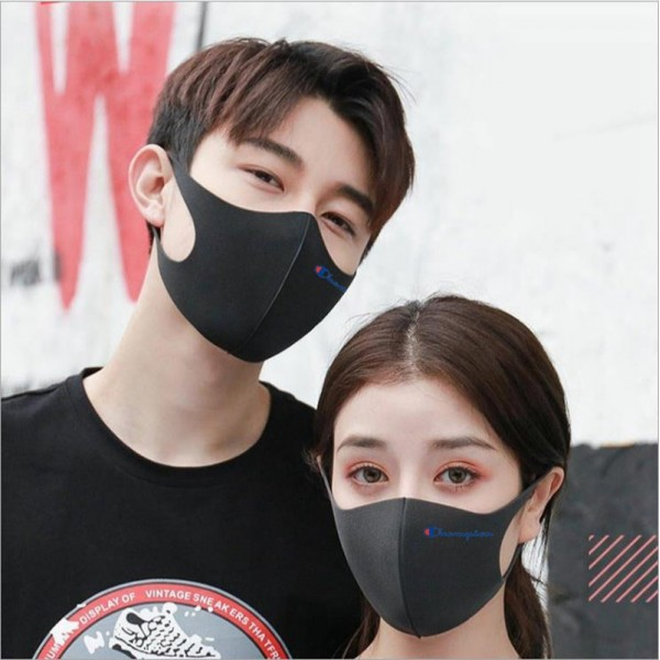 Brand Champion Cloth Quick Dry  Corona Virus Masks Japan Korea Famous Stars Same Paragraph Fashion Mask Luxury Coverings For Kids Adults