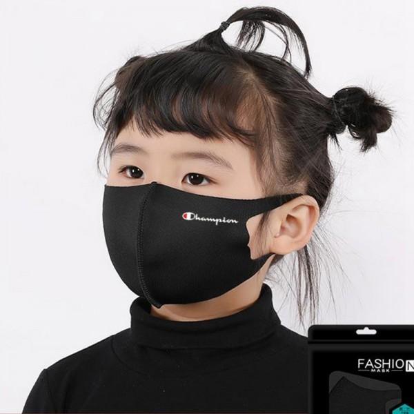 Brand Champion Cloth Quick Dry  Corona Virus Masks Japan Korea Famous Stars Same Paragraph Fashion Mask Luxury Coverings For Kids Adults