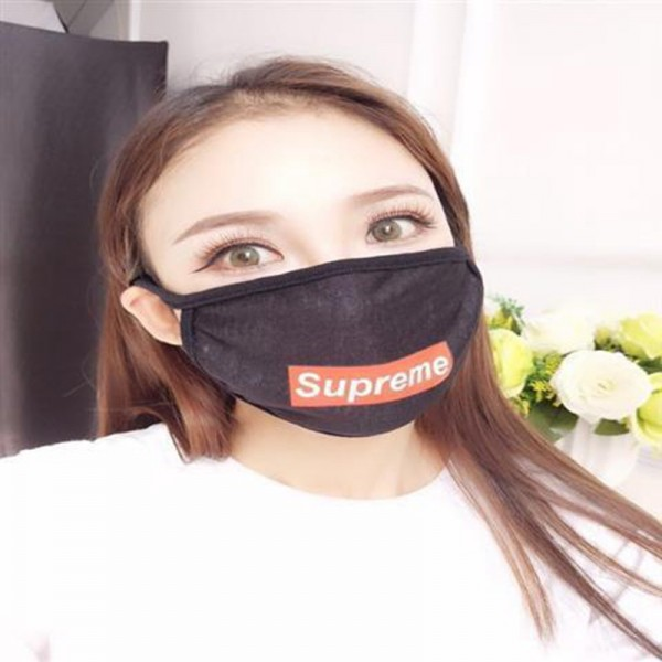 Brand Masks Sport Style Supreme Champion FILA FENDI Facemask 100%Pure Cotton Breathable Mask Reusable Washable Face Coverings COVID