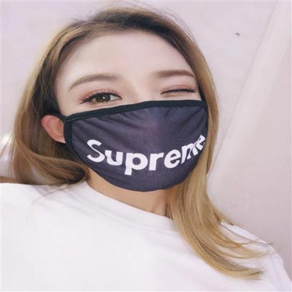 Brand Masks Sport Style Supreme BOY Champion FILA FENDI Facemask 100%Pure Cotton Breathable Mask Reusable Washable Face Coverings COVID