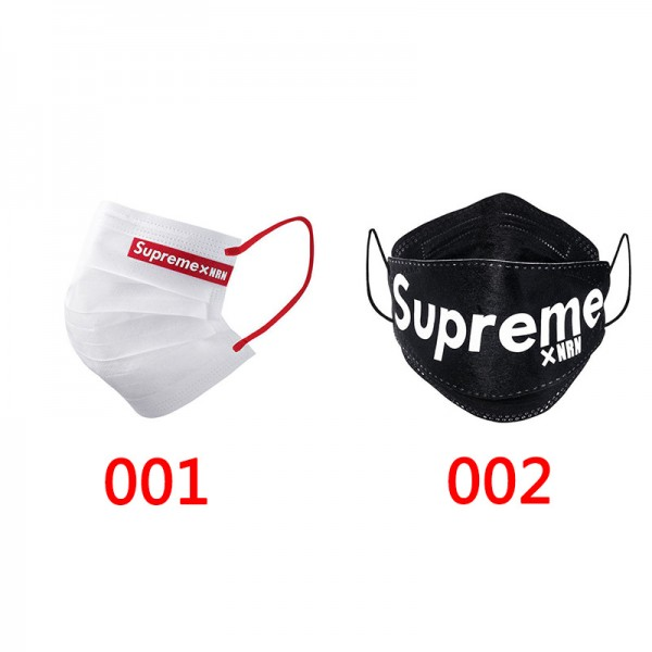 Brand Supreme x NRN Union Cotton Face Masks 3 Layer Filter Breathable COVID-19 Medical Masks Brand PM2.5 Surgical Masks For Kids Adults