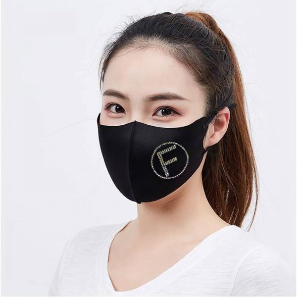 Brand face mask Fashion washable face mask Glitter diamond decoration mask Splash dust mask n95 protective mask.
