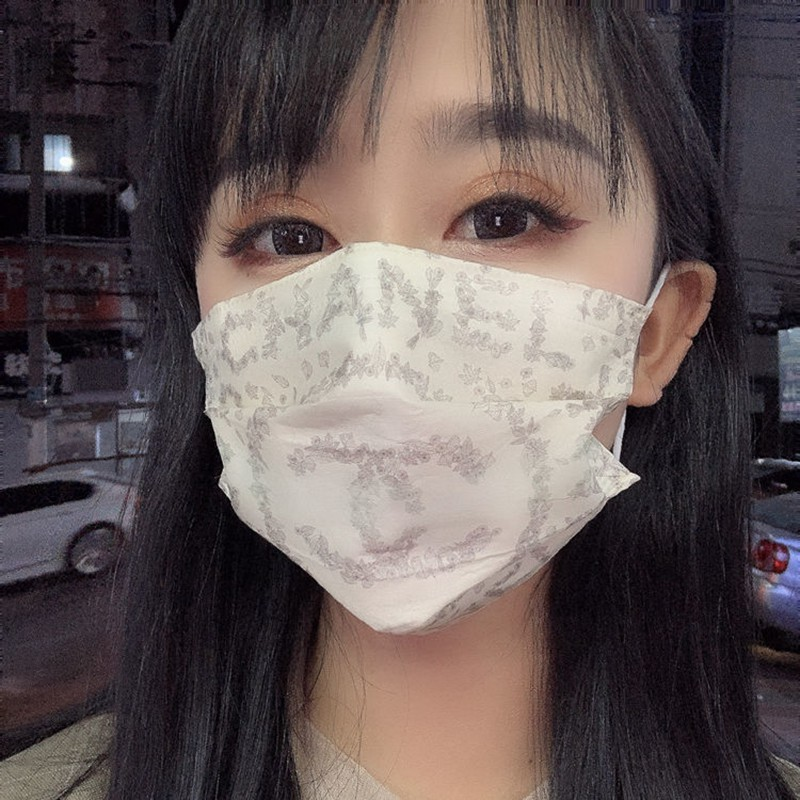 Chanel 3-layer non-woven fabric COVID-19 antivirus n95 mask