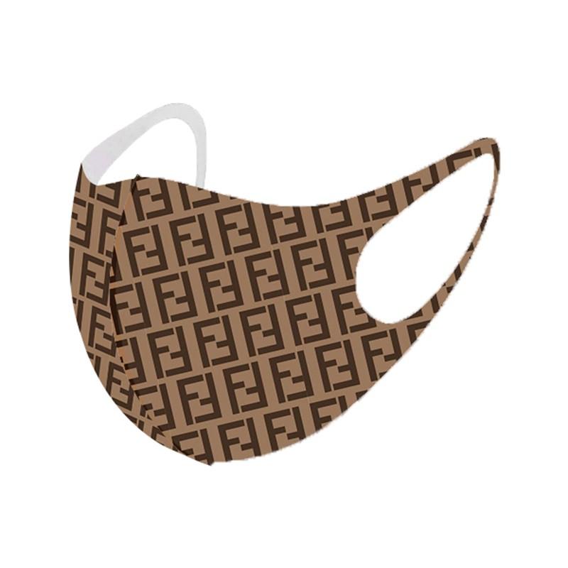 Brand Luxury Fendi Burberry LV Cloth Face Masks KAWS CDG Washable Splash Infection Prevention UV Mask