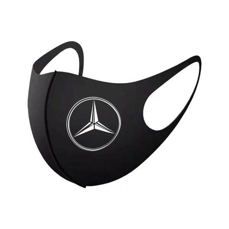 High Brand Cars BMW Audi Tesla Reusable Washable Luxury Handmade Cloth Mask Benz Ford General Breathable Corona Virus