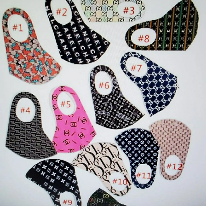 fendi masks for adults kids