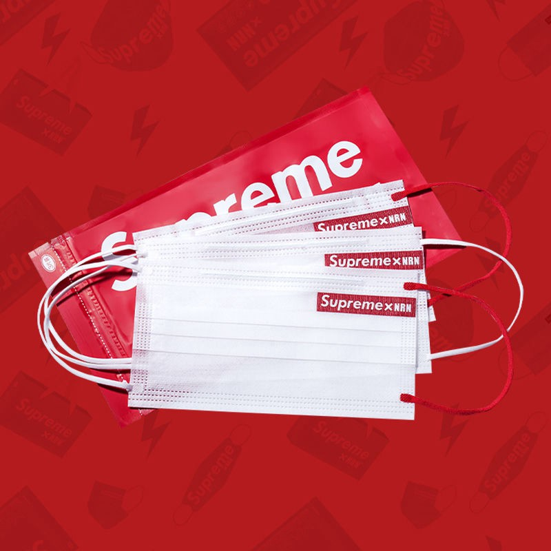 Brand Supreme x NRN Union 3 Layer Filter Face COVID-19 Medical Masks