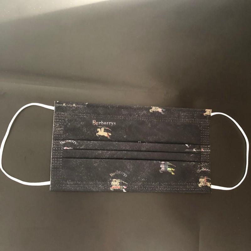 unisex burberrys 3 layer disposable medical masks