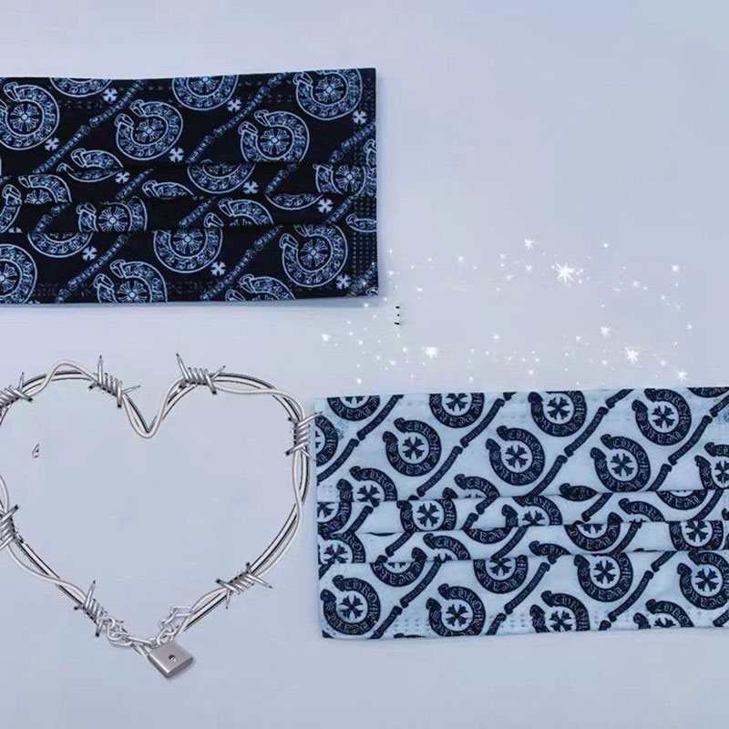 Brand Chrome Hearts Protection Surgical Mask