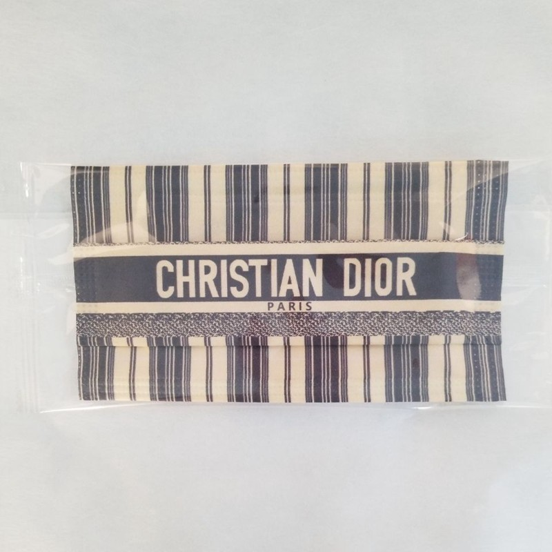 luxury brand Christian Dior masks